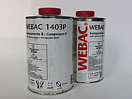 Webac 1403P - двухкомпонентная инъекционная смола. Герметизация трещин и швов в бетоне..