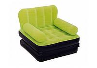 Надувное кресло  Bestway 67277 193х102х64 см зеленое, фото 1