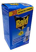 Жидкость 30 ночей от комаров для всей семьи Рэйд не товарный вид+