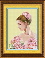 """""""Невеста"""" LasKo. Наборы для рисования камнями (на холсте)."""