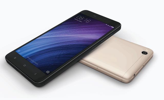 Xiaomi Redmi 4A 2/32Gb Gold Global - дисплей на 5 дюймов