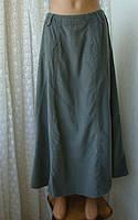 Юбка женская хлопок микровельвет макси бренд Cherokee р.48-50, фото 1
