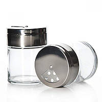 Емкость стеклянная для специй с железной крышкой Pasabahce Basic  115мл.