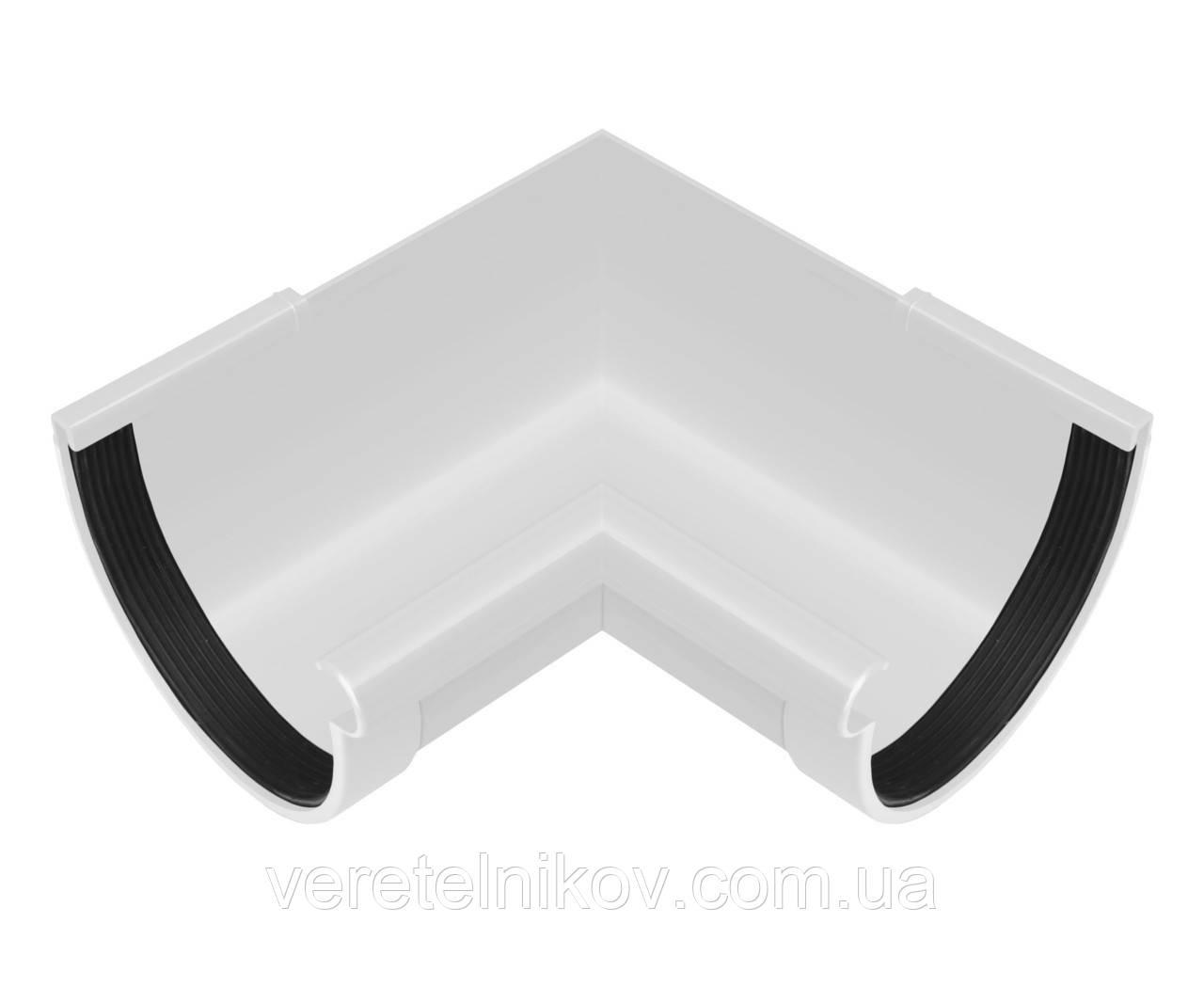 Угол желоба внутренний 130/100 Ренвей (Rainway) 90°