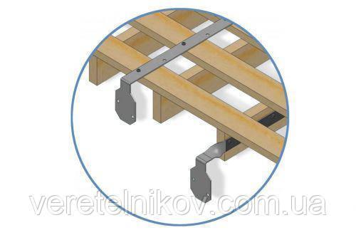 Удлинитель кронштейна вертикальный  Ренвей (Rainway)