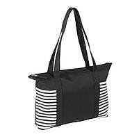 Сумка-шоппер для покупок или пляжа Twin / su 908205 Черный