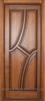 Двери деревянные №14 (глухое, стекло)