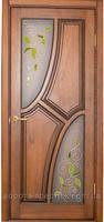Двери деревянные №14 (глухое, стекло), фото 2