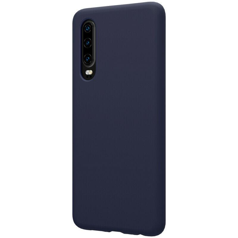 Nillkin Huawei P30 Flex Pure Case Blue Силиконовый Чехол