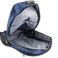 Рюкзак унисекс ETERNO DET822-6 на 14л  из ткани, синий, фото 6
