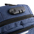 Рюкзак унисекс ETERNO DET822-6 на 14л  из ткани, синий, фото 8