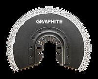 Круг 56H004 Graphite к многофункциональному инструменту, полукруглый HM, вольфрамовое напыление 85 мм
