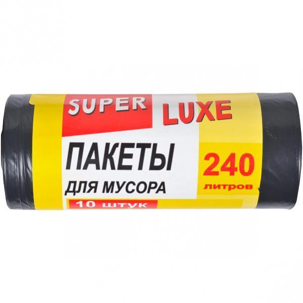 Пакет для мусора А10 260×370 240 л 10 штук Super Luxе    КРSL260х370/240л