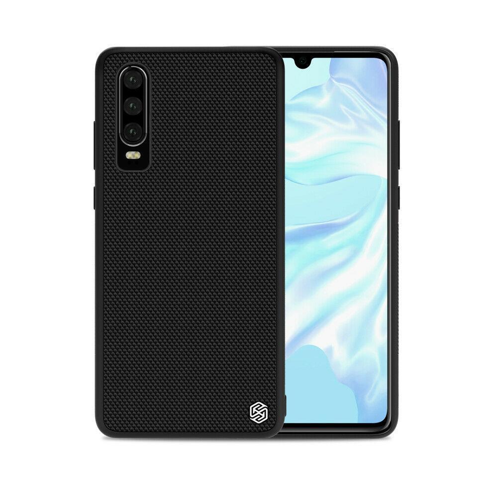 Nillkin Huawei P30 Textured Case Black Чехол Накладка Бампер