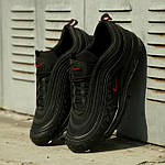 Мужские кроссовки Nike Air Max 97 Reflective Logos Black , фото 2