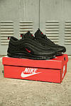 Мужские кроссовки Nike Air Max 97 Reflective Logos Black , фото 5