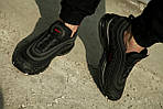 Мужские кроссовки Nike Air Max 97 Reflective Logos Black , фото 8