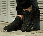 Мужские кроссовки Nike Air Max 97 Reflective Logos Black , фото 10