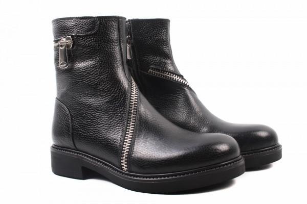 Ботинки Molly Bessa натуральная кожа, цвет черный