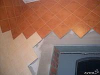 Облицовка стен плиткой диагонально
