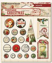 Набор брадсов Vintage Christmas VC1014 MME