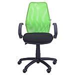 Кресло Oxi/АМФ-5 сиденье А-01/спинка Сетка салатовая, фото 5