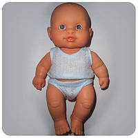 Кукла серии «Пупсы-малыши» - Младенец европеец в трусах и майке