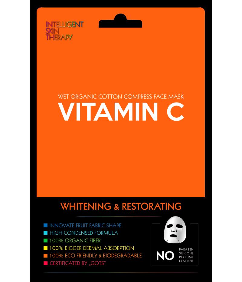 Маска тканевая для лица с витамином С, 1 шт.