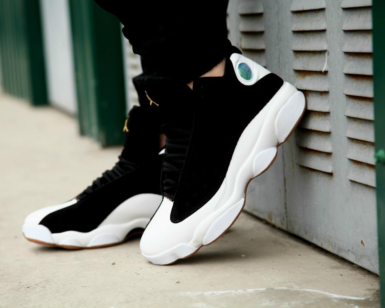 Мужские кроссовки Nike Air Jordan 13 Retro Black/White