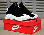 Мужские кроссовки Nike Air Jordan 13 Retro Black/White, фото 9