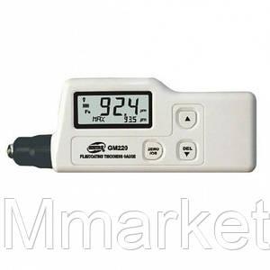 Толщиномер лакокрасочных покрытий Benetech GM220 (от 0 мкм до 1800 мкм) Fe