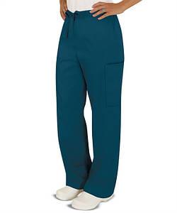 Медицинские брюки унисекс / Pocket Unisex Drawstring Pants Butter-Soft Scrubs by UA™ 4
