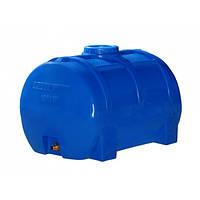 Емкость Пласт Бак 200 литров горизонтальная