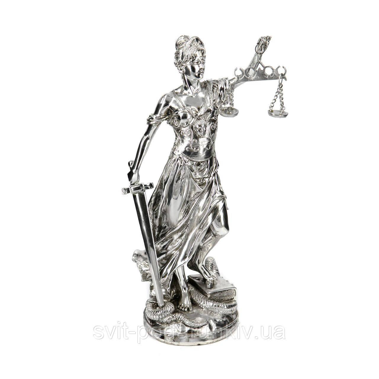 Статуэтка Фемида древнегреческая богиня права PLS0149D-12.5