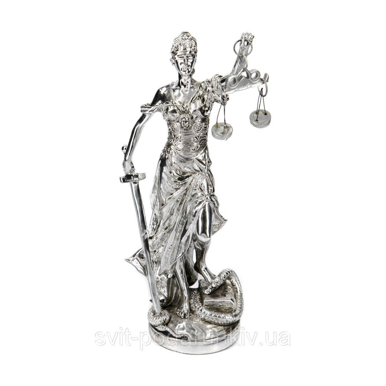 Статуэтка богиня правосудия Фемида с весами и мечом PLS0149S-8
