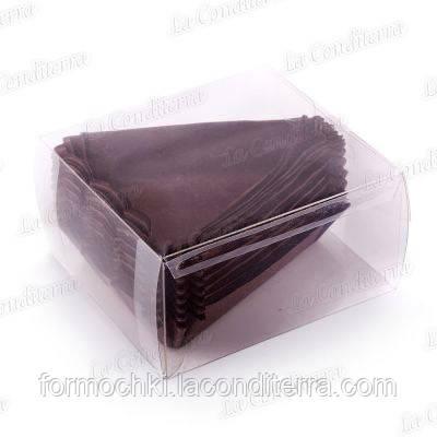 Коричневые бумажные формочки для торта TP-102-ПУ, 100 шт.