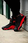 Чоловічі кросівки Nike Air Jordan 13 Black/Red, фото 2
