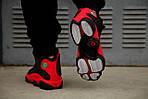 Чоловічі кросівки Nike Air Jordan 13 Black/Red, фото 4