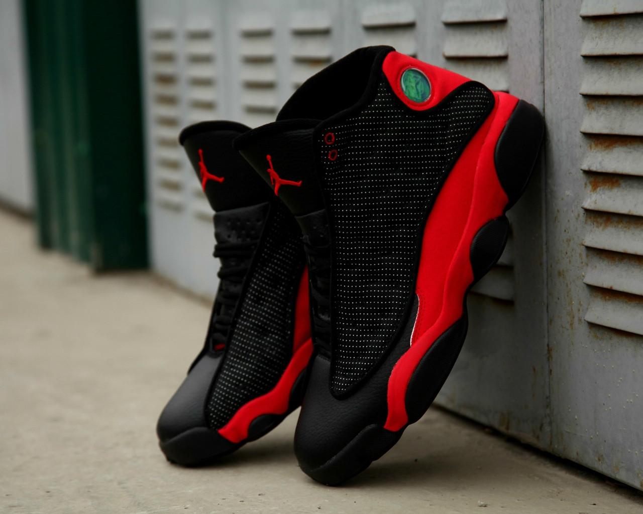 Чоловічі кросівки Nike Air Jordan 13 Black/Red