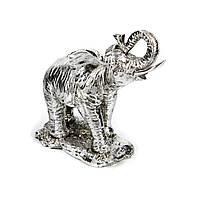 Статуэтка слона в доме с покрытием из серебра PLS0151E-8