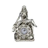 Настольные часы статуэтка Фортуна с рогом изобилия PLS0207G-7.5