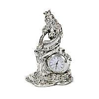 Настольные часы декоративные статуэтка Фортуна с рогом богатства PLS0405K-5