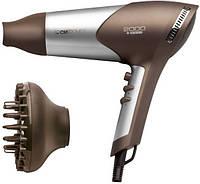 Фен для волос с насадками 2000 Вт CLATRONIC HTD 3363 Braun