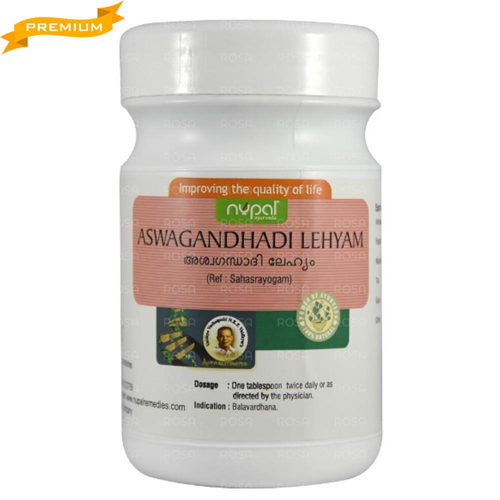 Ашвагандхади Лехья (Aswagandhadi Lehyam, Nupal), 500 грамм - Индийский женьшень, Аюрведа премиум
