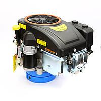 Двигатель бензиновый GrunWelt GW-1P90FE (16 л. с., электростартер, вертикальный вал), фото 1