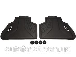 Оригинальные задние коврики салона BMW X5 (G05) (51472458552)