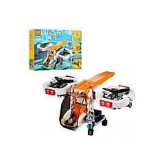 """Конструктор Bela 11042 (Аналог Lego Creator 31071) """"Транспорт3 в 1"""" 109 деталей"""