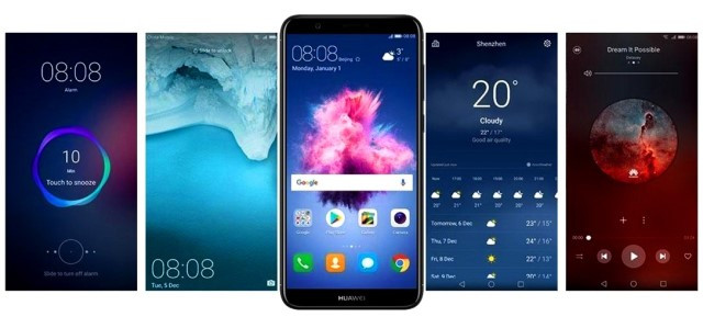 Дисплей в телефоне HuaweiPSmart