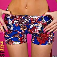 Женские джинсовые шорты ем77, фото 1