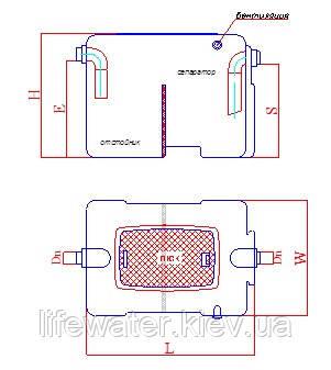 Сепаратор жиру з відстійником FAT S 4